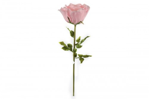 Fiori artificiali giganti, rosa con stelo, diam. 50cm, h 136cm