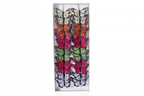 Farfalle colorate 6cm