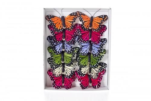 Farfalle colorate 8cm