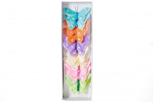 Farfalle colorate 10cm