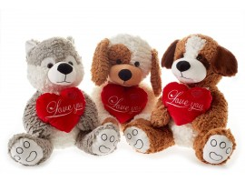 Peluche Animali Love You